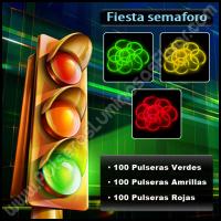 Fiesta del Semáforo Pulseras Fluorescentes