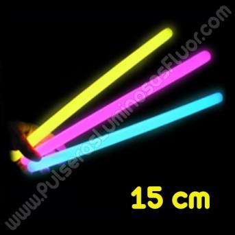 Barritas Fluorescentes 15 cm (25 uds)