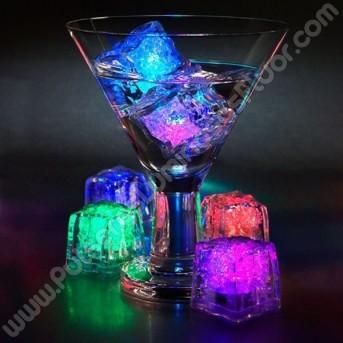Cubitos Luminosos Led (12 uds)