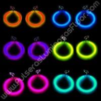 Pendientes Luminosos de Aro (2 uds)