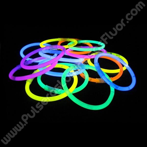 8effb4f5082e Pulseras Luminosas Unicolor