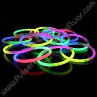 Pulseras Luminosas Tricolor (100 uds)