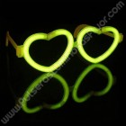 Gafas Luminosas Corazón Individuales