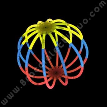 Esferas Luminosas Tricolor (8 uds)