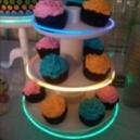 Pulseras Luminosas para fiestas de cumpleaños, pasteles y tartas