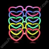 Gafas Luminosas Corazón a Granel
