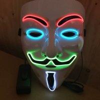 Máscara Led con Luz