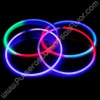 Collares Luminosos Tricolor (50 uds)