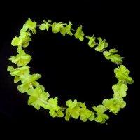 Collar Hawaiano de Flores UV