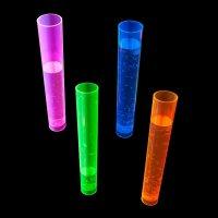 Vasos Neon Tubo de Ensayo (20 Unidades)