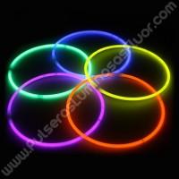Collares Luminosos Unicolor (50 uds)