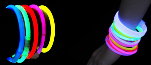 pulseras de luces neon